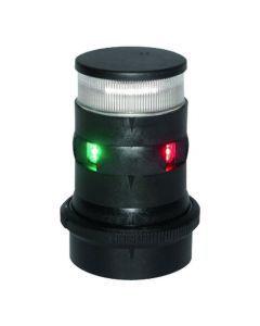 Aqua Signal 34 Driekleurenlicht en Ankerlicht Kleur Zwart