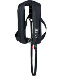 Besto 165N zwart Type Met harnas