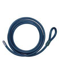 Stazo Lasso Kabel Type Staalkabel met slotpen 2,5m